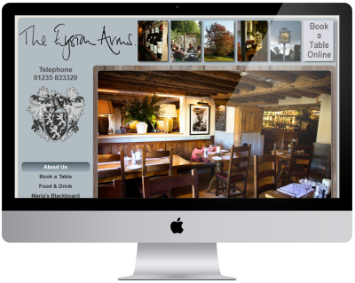 Eyston Arms Website